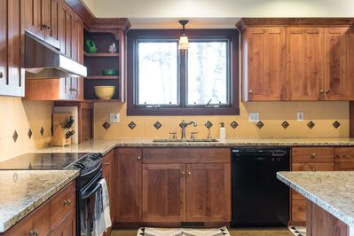 Kitchen - equipped with microwave, Keurig, electric skillet, and many other kitchen essentials.