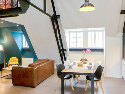 Photo for Apartment Loft Annadréas  in Saint Malo, Brittany - Northern - 4 persons, 2 bedrooms