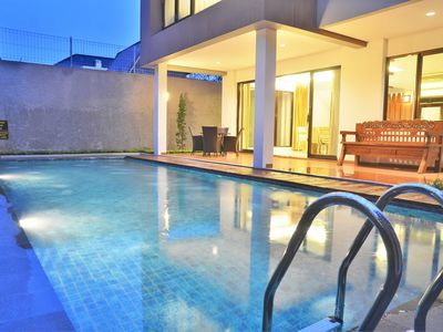 Photo for 3 BR City View Villa with a private pool