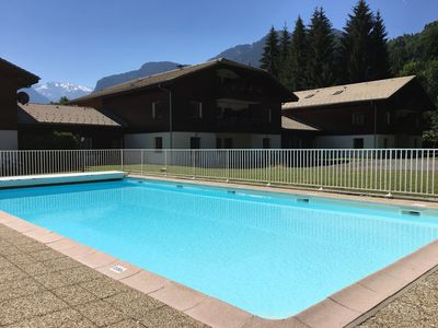 Photo for Samoens T2 5 people in tourist residence 3 *** with Pool and Sauna