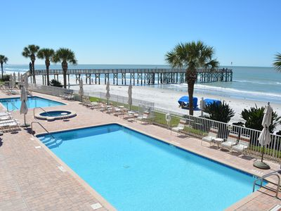 Photo for La Contessa 107, 3 bed, 3 bath, Sleeps 6, Gulf Front, Pool, XL Balcony