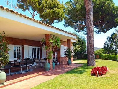 Photo for Amazing house in the maresme very comfortable with tennis court