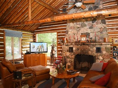 Photo for Spacious Log Home along the Boardman River