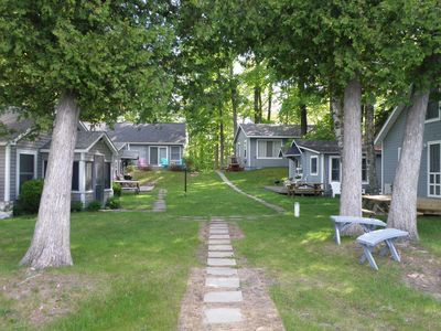 Photo for 2BR Cabin Vacation Rental in Honor, Michigan