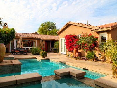 Photo for Rancho La Quinta, Furnished, Lux. home, pool/spa Oasis Private