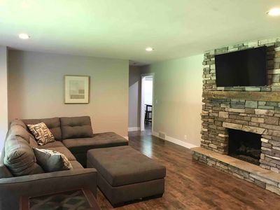 Photo for Beautiful Ranch Home w/ Cozy FIRE Place /Near Warren Dunes State Park