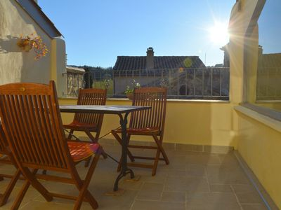 Photo for Authentic, renovated townhouse (1-7 guests) with rooftopterrace at Mont Ventoux