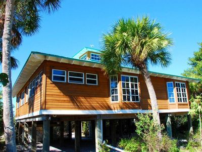 Photo for RELAXING NEWLY RENOVATED 2 BEDROOM COTTAGE ON NORTH CAPTIVA JUST 100 YARDS TO THE BEACH WITH SPA!!!