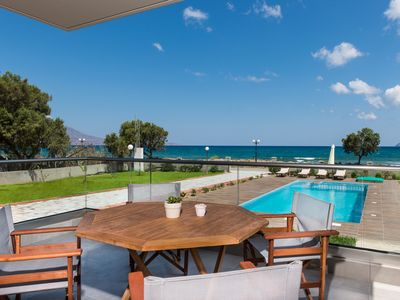Photo for Niovi Seaside Suites (2+2 persons / First Floor)