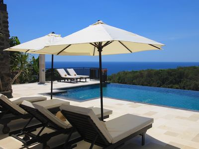 Photo for Villa Jempiring: Luxury Balinese Style Villa With Amazing Sea Views!