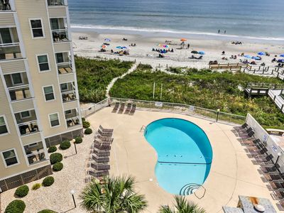 Photo for North Myrtle Beach Resort Condo Steps from Beach!