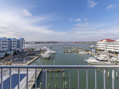 Photo for Beautiful condo overlooking the bay in downtown OC