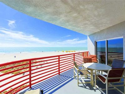 Photo for Luxury Direct Beach Front Tropical Decor Updated Throughout - Free Wifi - Crimson 201