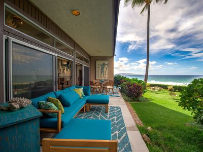 Photo for Spectacular Beachfront Property, Ocean Front Ground Floor #112