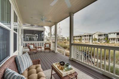 Beautiful Open Deck with Plenty of Seating