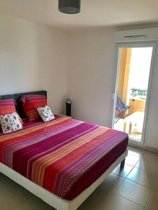 Photo for Nice 2 rooms with terrace and swimming pool