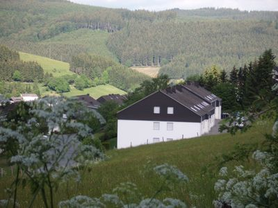 Photo for Large, comfortable and cozy apartment with private IR sauna near Winterberg