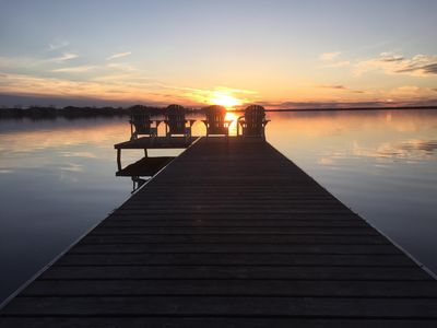 Photo for Exclusive Waterfront West Lake Cottage - Prince Edward County
