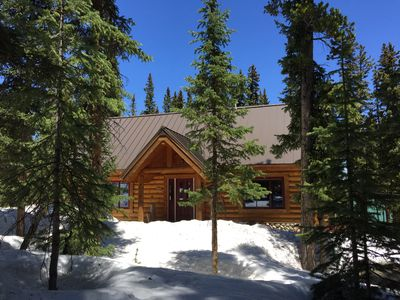 Photo for Breckenridge Log Cabin In The Woods