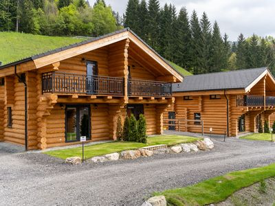 Photo for Beautiful wooden chalet near the top ski area of ​​Nassfeld in the sunny south