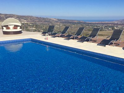 Photo for Spacious & Very Private Vineyard Villa with Spectacular & Panoramic 360' view