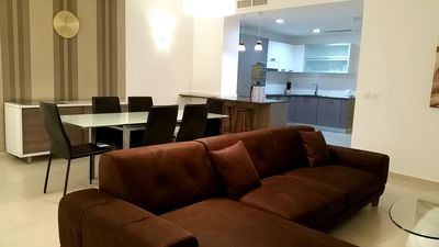 Photo for Spacious Marsaskala apartment in Malta with WiFi, integrated air conditioning, shared terrace & lif…