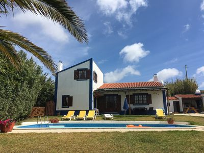 Photo for Villa rustica with private pool overlooking the sea