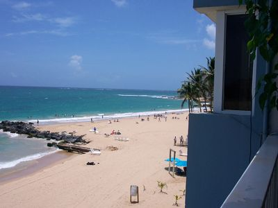 Photo for One Bedroom Oceanfront Condo On Beautiful Condado Beach - FEMA Freindly!