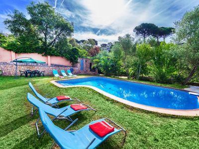 Photo for Beautiful private villa for 10 people with private pool, WIFI and TV