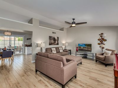 Photo for Gorgeous N Scottsdale Home near TPC Golf, Mayo Clinic - SPA, Putting Green, BBQ