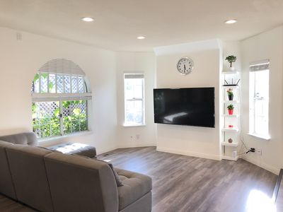 Photo for Cozy newly-remodeled smart home for extended stay