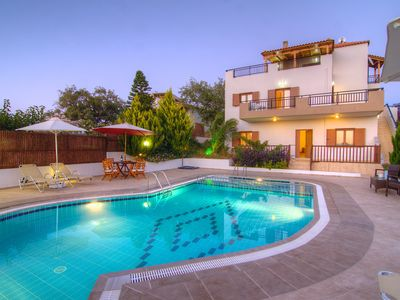 Photo for 2 villas, with private pool each, walking distance to shops, restaurants & cafes