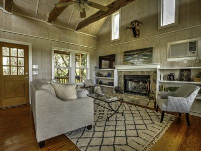 Photo for September Ridge Cabin1, Texas Hill Country Rustic yet Chic Cabins-Stunning Views