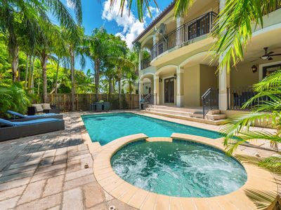 Photo for Massive Villa with 10 Beds, Sleeps 20 Just Outside Brickell!