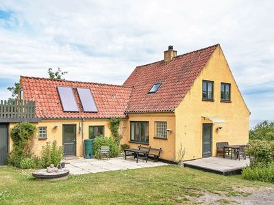 Photo for Cozy Holiday Home with Terrace in Bornholm