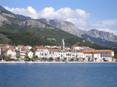 Photo for Apartment in the center of Makarska with Parking, Internet, Air conditioning, Balcony (122955)