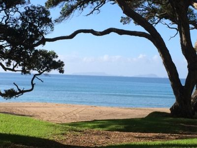 Photo for Stunning Beach Front Moureeses Bay