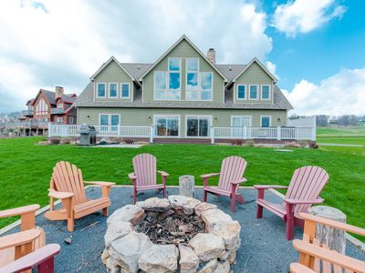 NEW! Lakefront Home w/Dock Slip, Golf Access & Hot Tub!