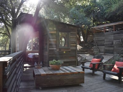Photo for The Flying Pig Treehouse Oasis