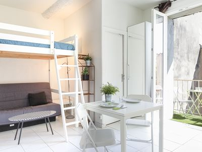 Photo for studio in the heart of the historical district of Antibes