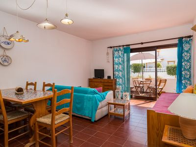Photo for Two Bedroom Apartment - 400mts to Olhos de Agua beach