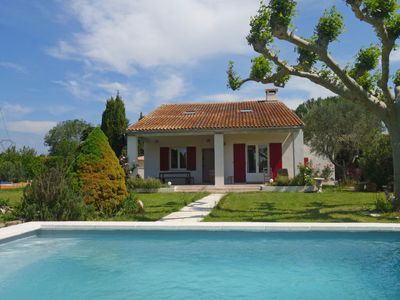 Photo for 4 bedroom Villa, sleeps 7 with Pool, Air Con, FREE WiFi and Walk to Shops