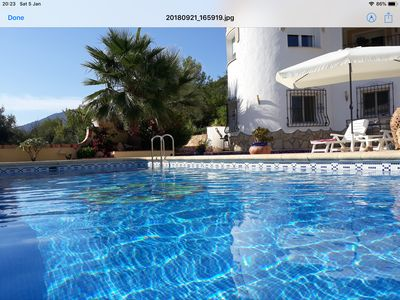 Photo for Beautiful Two Bedroom Ground Floor Apartment in Sunny Jalon Valley Spain