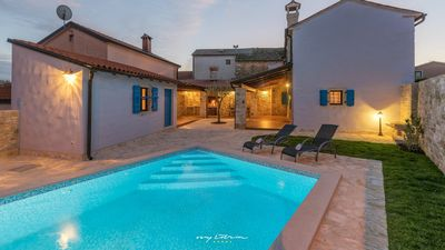 Photo for Idyllic family villa with private pool near Umag