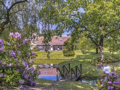 Photo for Luxury interior designed two bed cottage in peaceful location overlooking ponds