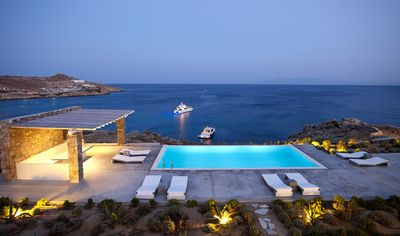Photo for Best Choice, Villa Luxerati Mykonos An Exceptionally Unique Property 8 BR 8 BATHR with Private Pool, Up to 20 Guests !