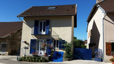 Photo for Nice cottage in the village center of Valempoulières in the Jura