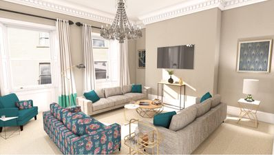 Photo for Queen Square - 5* Georgian Town House Central Bath - Sleeps 13 Guests
