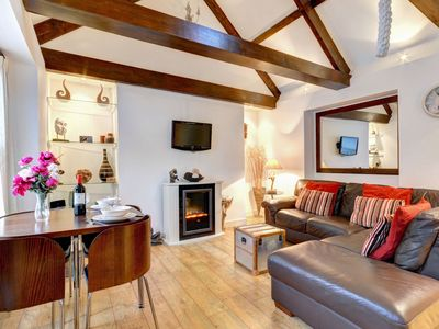 Photo for Bay House is an elegant second floor apartment right in the heart of East Looe