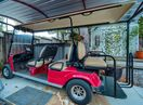 Live like a local with this street legal golf cart included in your stay